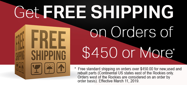 Free Freight For Purchases Over $450