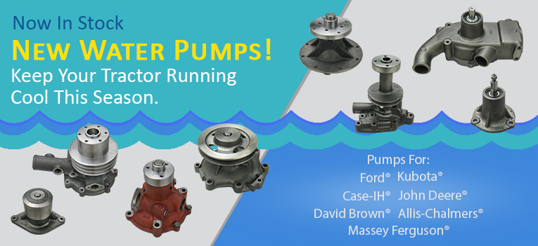 New Water Pumps Banner